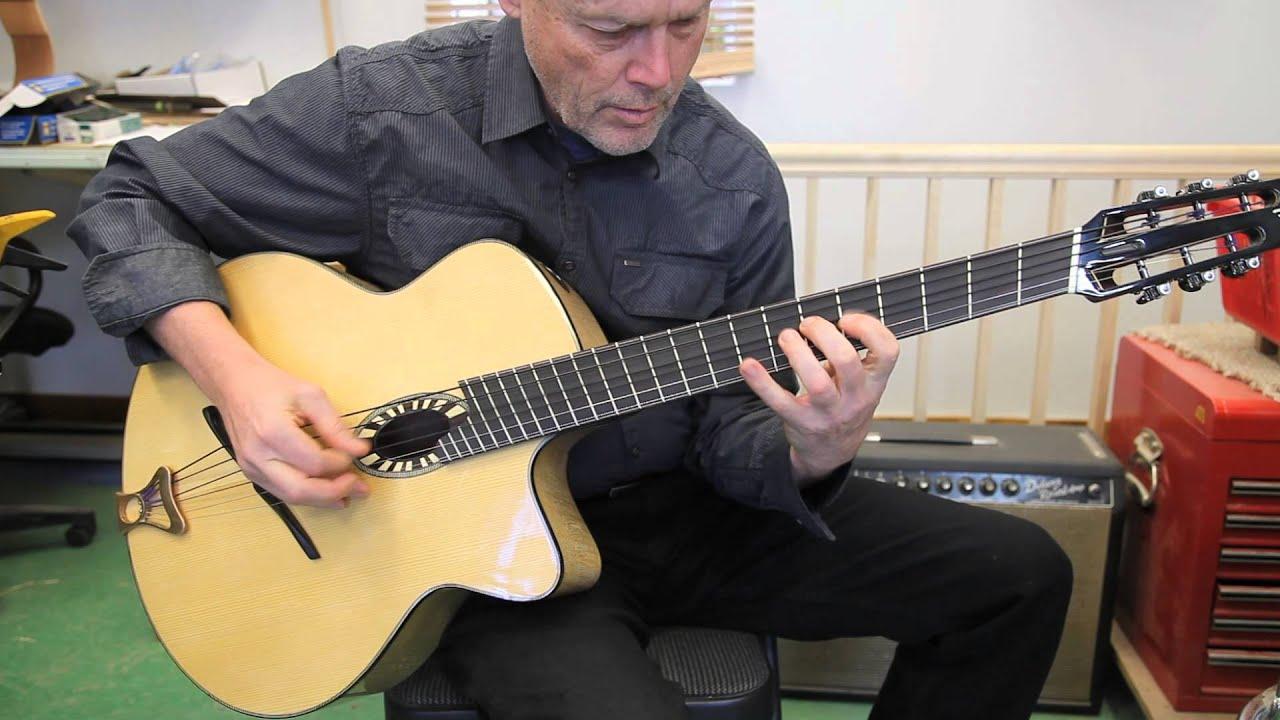 Beardsell Guitars Baritone Guitar Youtube
