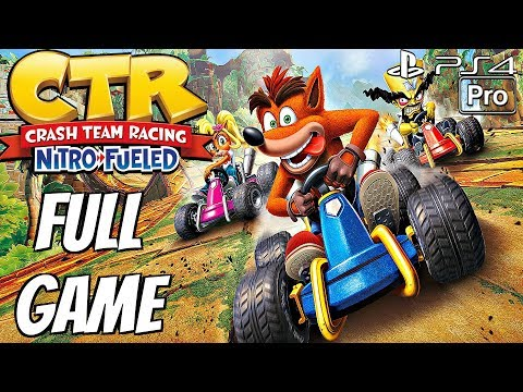 Crash Team Racing Nitro-Fueled - Gameplay Walkthrough Part 1 - Story Mode (Full Game) PS4 PRO