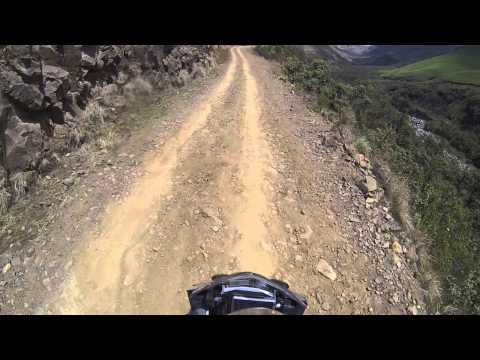 Solo ride across South Africa - Crossing Sani Pass from South Africa into Lesotho (II)