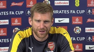 Per mertesacker full pre-match press conference - arsenal v chelsea - fa cup final