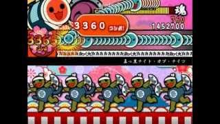【太鼓さん次郎】真っ黒ナイト・オブ・ナイツ改【創作譜面】 thumbnail