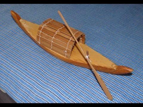 bateau jouet 14 Petit sampan décoratif