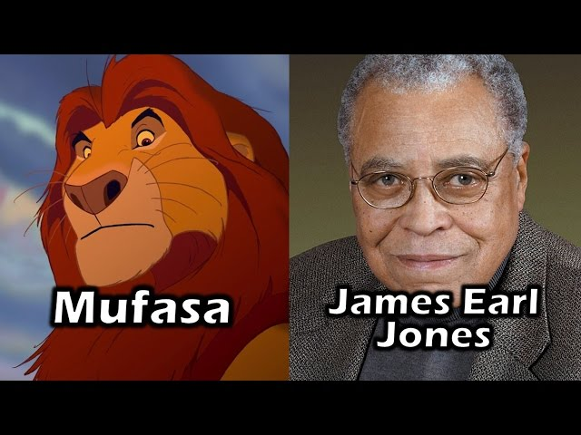 Characters and Voice Actors - The Lion King