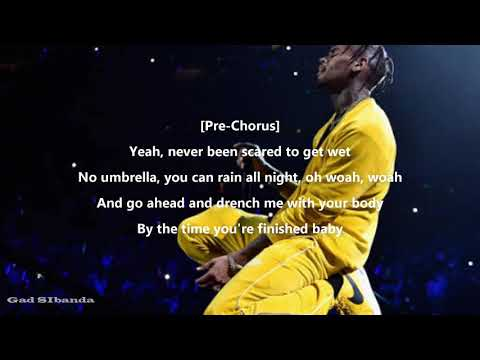 Chris  Brown-Covered in you(Lyrics)