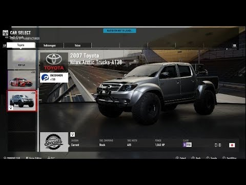 forza 7 drifting my toyota hilux at38 truck 1st time with. Black Bedroom Furniture Sets. Home Design Ideas