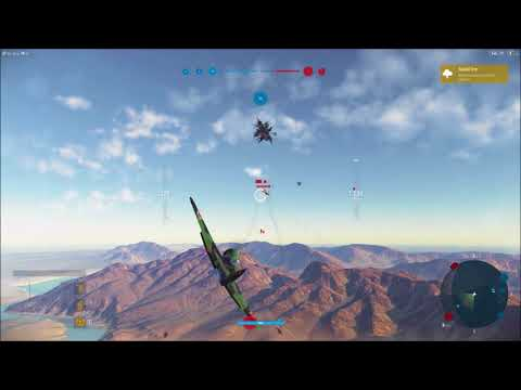 World of Warplanes - Road to the MIG Series Video 2 – LVL VII Russian Fighter Mikoyan Gurevich I210
