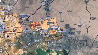Сирия!Обзор карты боевых действий в Сирии, Ираке и Йемене от 06 02 2016г