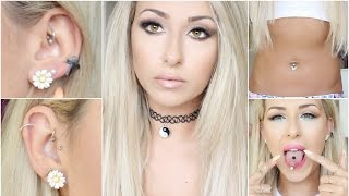 All about My Piercings 2016 Pain, healing, expericence | DramaticMAC