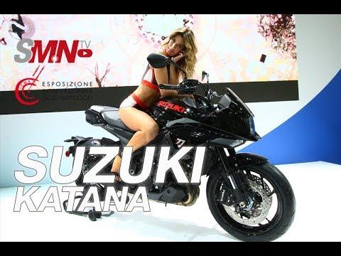 Suzuki Katana  - EICMA  [FULLHD]