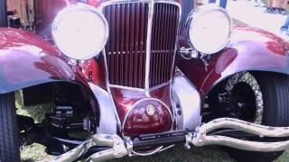 1929 Cord L-29 Sedan Maroon