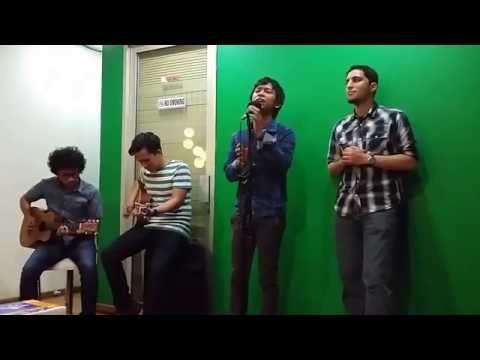 Akustik Raef ft D'Massiv - Tala'a Al Badru at DNA Office