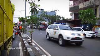 Rombongan Presiden Jokowi Melintas (TANPA SIRINE)