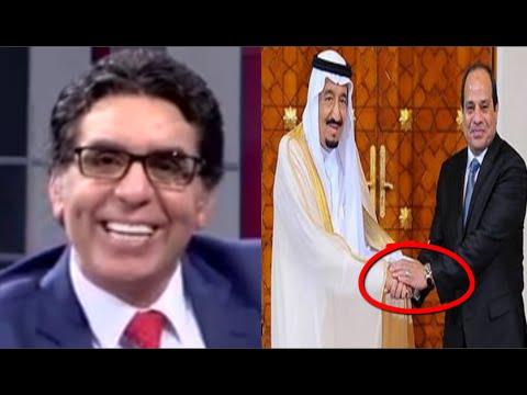 c61ff1939 شاهد ماذا قال محمد ناصر .. عن ساعة السيسي من الملك سلمان . ياترى دي ...