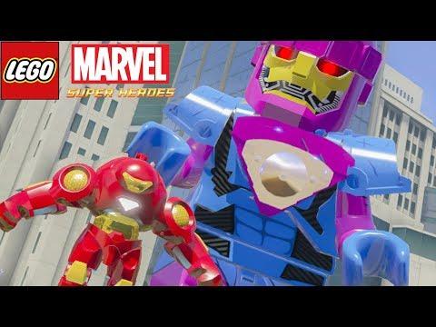 HULKBUSTER CONTRA SENTINELA no LEGO Marvel Super Heroes EXTRAS #15 thumbnail