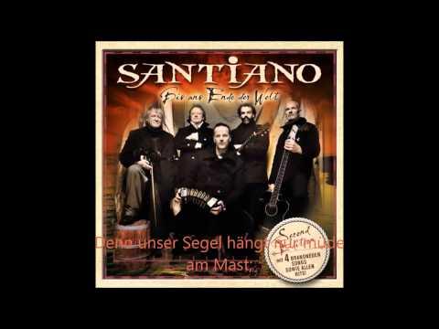 Santiano - Es gibt nur Wasser [German's lyrics]