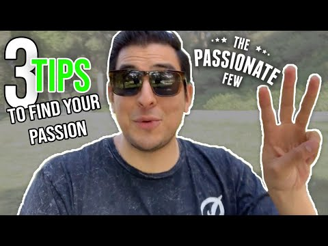 How To Find Your Passion In Life FAST! ❤️ (3 EASY TIPS THAT 100% WORK) - MUST WATCH!
