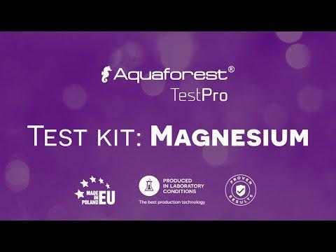 Aquaforest TestPro Magnesium Test Kit Video Tutorial