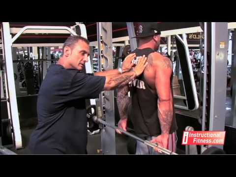 Instructional Fitness - Shrugs Behind The Back