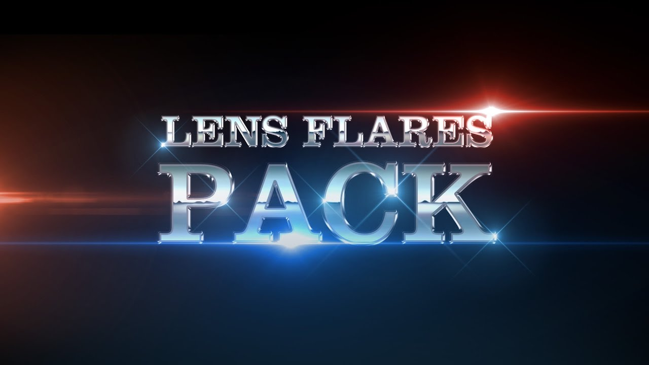 Lens Flares Pack Youtube