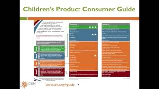 Toxics in Child Care Webinar