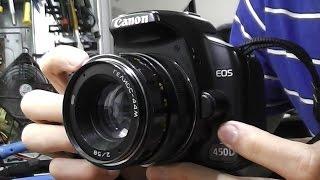 гелиос-44М 58mm f2   Canon 450D. Как подключить M42 к Canon EF-S