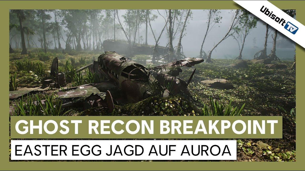Tom Clancy's Ghost Recon Breakpoint – Easter Egg Jagd auf Auroa  | Ubisoft-TV [DE]
