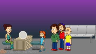 Caillou Goes to a Fortune Teller