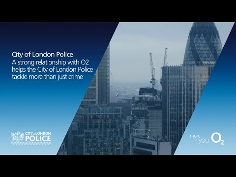 City of London Police - spotlight on O2 Wifi and mobiles