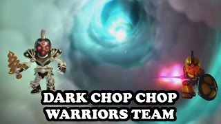 Skylanders Imaginators - Dark Chop Chop & Legendary Chop Chop GAMEPLAY- DARK CHOP CHOP WARRIORS TEAM