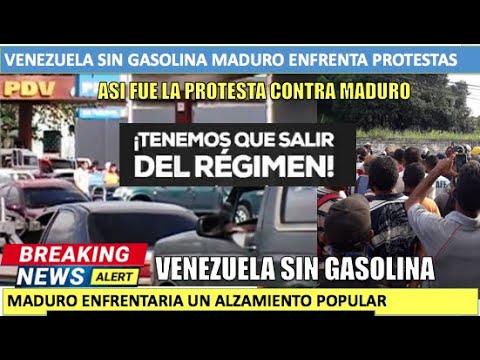 Venezuela sin gasolina Maduro enfrenta un alzamiento popular