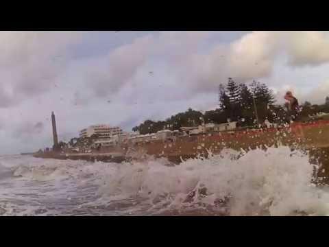 Wellen am Strand von Maspalomas 25.10.16