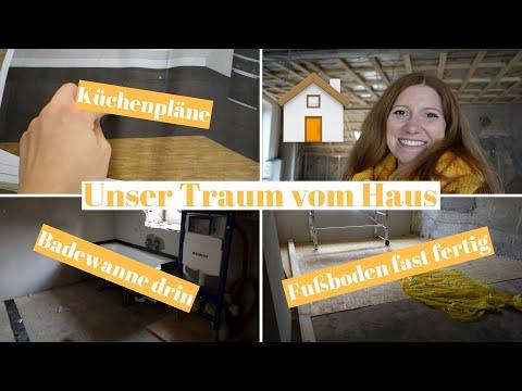 TRAUM VOM HAUS #21 | Haustour | Baustellenupdate | Silja