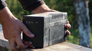 Заміна батареї ДБЖ UPS ремонт своїми руками!