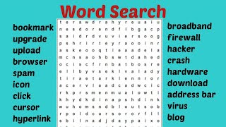 online word search game free - word searching puzzle game for kids