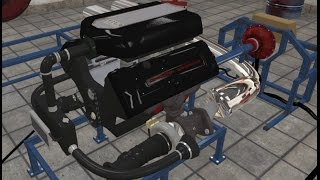 Automation Game - 3337HP Engine!