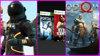 Fortnite Free Stuff | Xbox Games | God of War - GNR 4.14.18