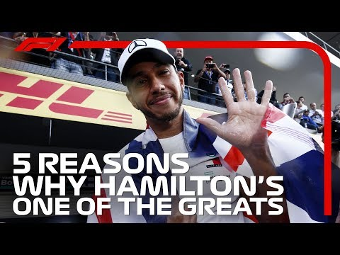 Five Reasons Why Lewis Hamilton Is One Of The Greats