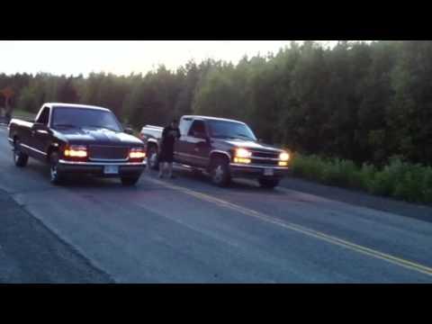 Gmc Vs Chevy >> 305 GMC vs 350 CHEVY - YouTube