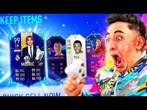 TOP 20 LUCKIEST FIFA PACKS OF THE YEAR!!!