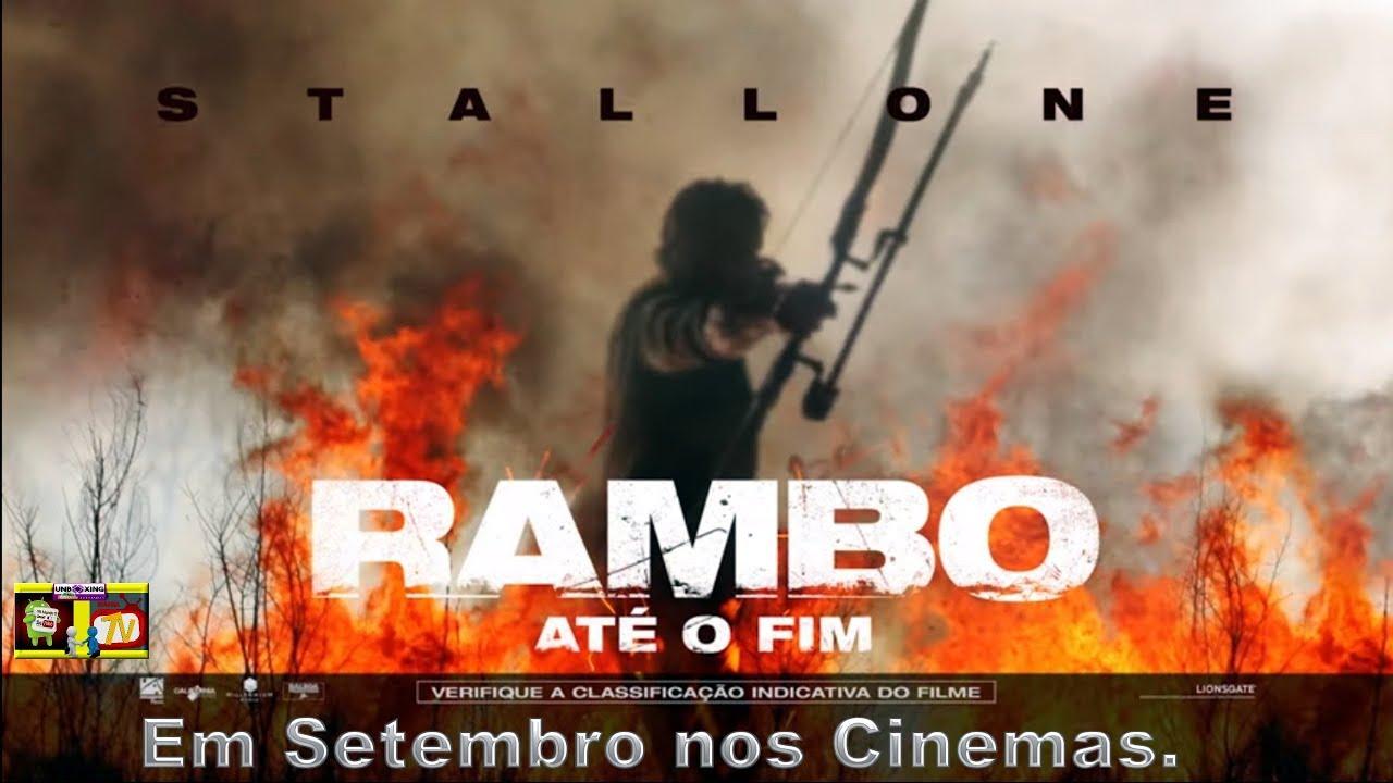 Rambo: Até o Fim - Trailer Dublado - Em Setembro nos Cinemas.