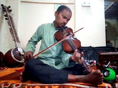 Ae mere humsafar,violin instrumental in gayki style.