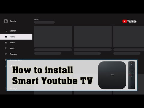 How to install Smart YouTube TV APK on MiBox or Android TV
