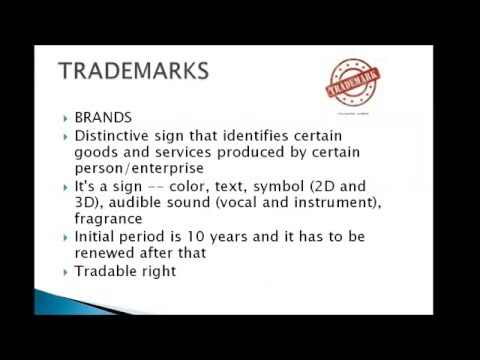 Intellectual Property Rights Part 1