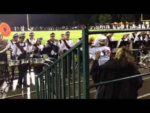 Kaukauna High School marching band - Bobbie Jo Whalen conducting