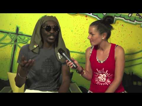 Interview with Anthony B @ Rototom Sunsplash 2014 | LIVE STREAM August 18th 2014