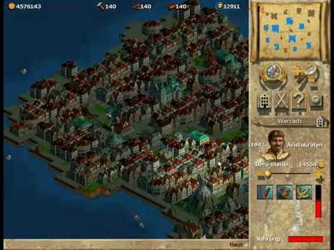 Anno 1602 - Building a 13280 Aristocrats City (Endless Game