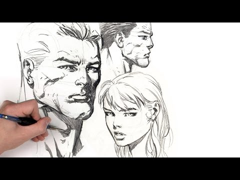 Dynamic Figure Drawing: The Head with David Finch