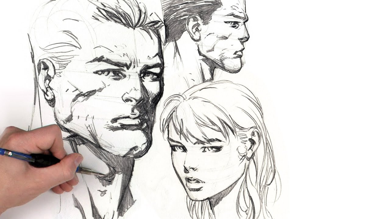 Dynamic Figure Drawing  The Head With David Finch