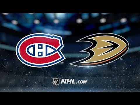 Montreal Canadiens Vs. Anaheim Ducks | NHL Game Recap | October 20, 2017 | HD