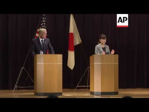 Inada remarks after joint Japan-US defence talks
